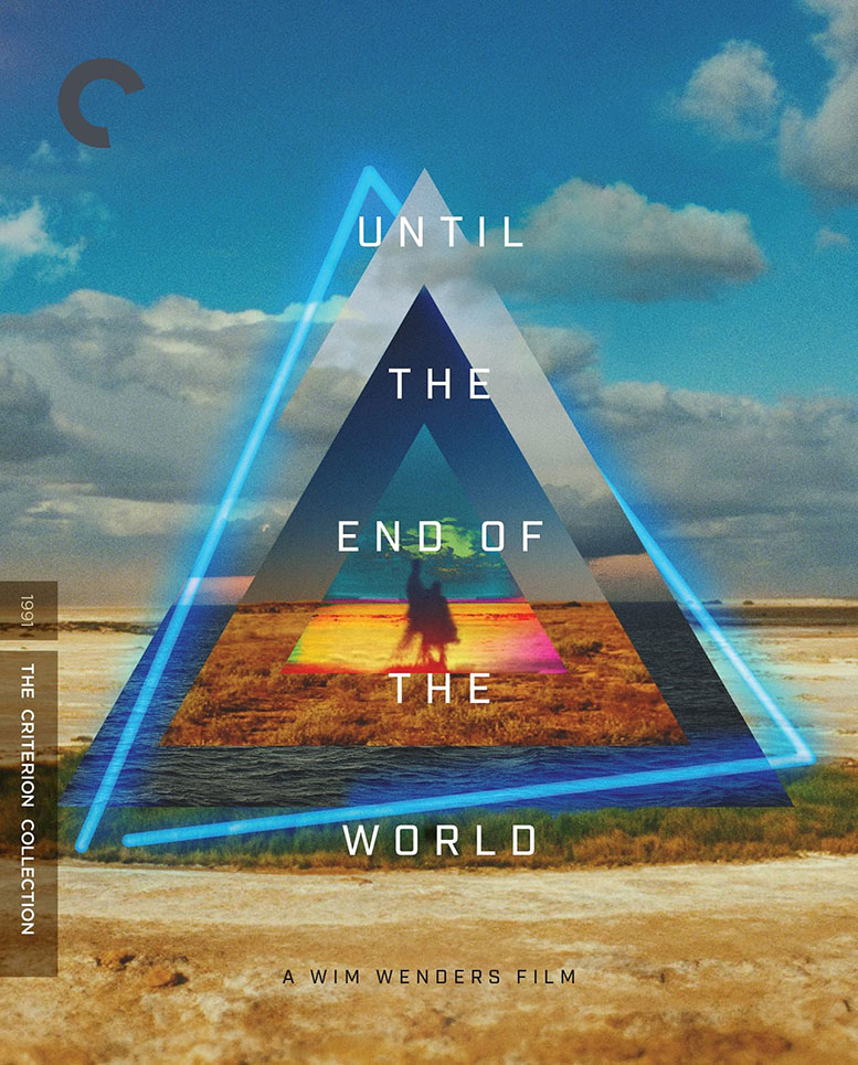 Cover of the new Criterion Collection release of Until the End of the World by Wim Wenders
