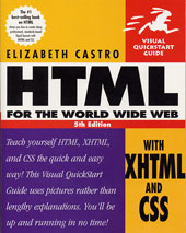 HTML for the World Wide Web by Elizabeth Castro