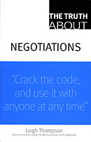 Negotiations by Leigh Thompson