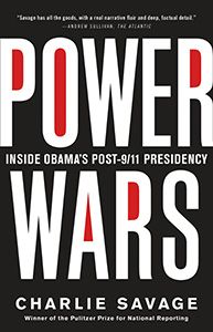 Power Wars by Charlie Savage