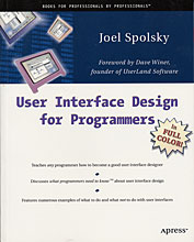User Interface Design for Programmers by Joel Spolsky