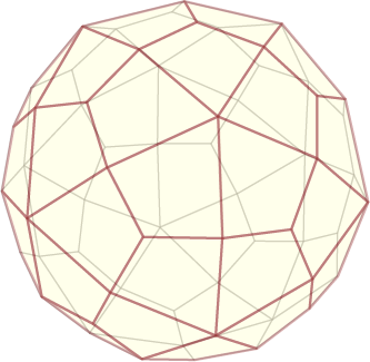 Thinking about my next lamp: a deltoidal hexecontahedron