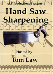 Hand Saw Sharpening hosted by Tom Law