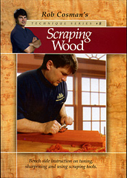 Scraping Wood by Rob Cosman