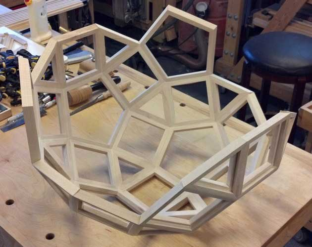 Contentment By Design Woodworking Projects Pentafleur