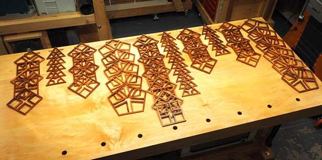 Contentment By Design Woodworking Projects Pentafleur Shoji Lamp