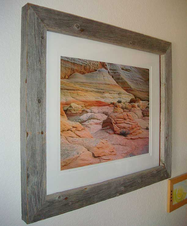 Weathered frame