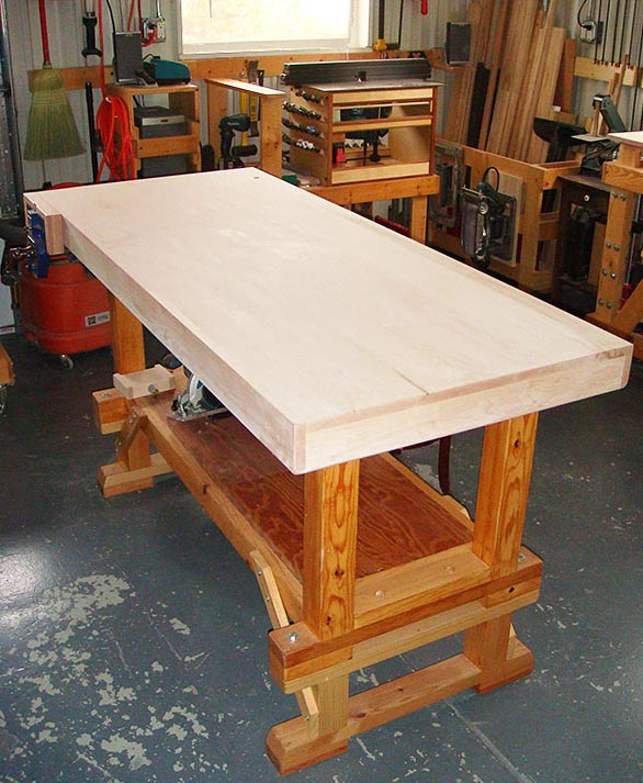 Contentment by design - Woodworking projects: Workbench