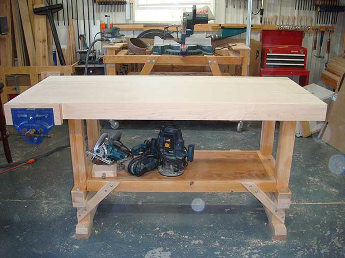Upgraded workbench - view 1