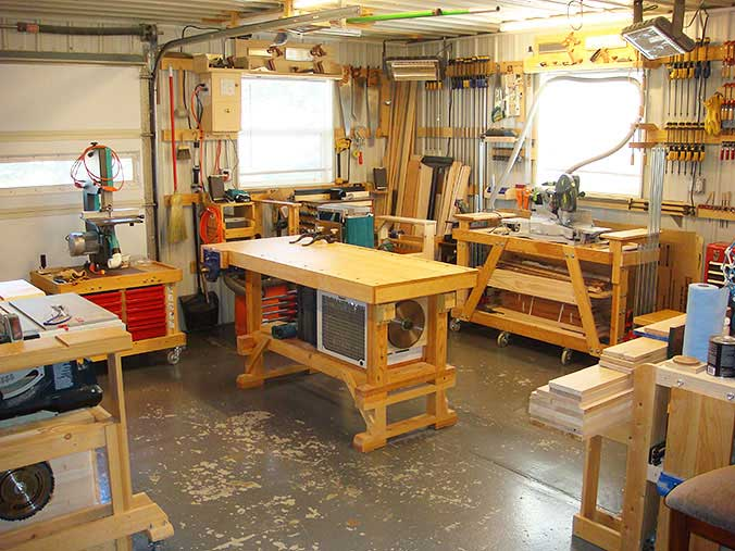 woodworker workshop