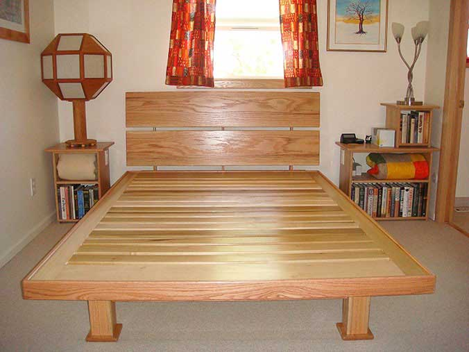 Contentment by design - Woodworking projects: Bed platform